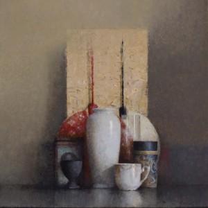 Rojo - 2018 - oil on canvas - 46 x 38 cmjpg